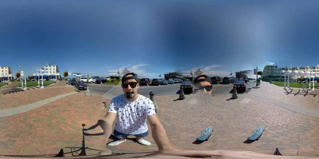 360 degree video